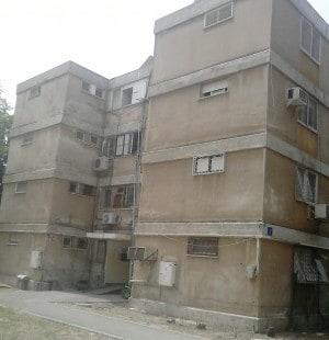 הבניין ברחוב דגניה בקרית חיים  (צילום: נטע פלג)