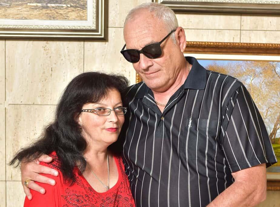 אלכסנדר וגיטה קייבסקי (צילום: זיו לסמן)