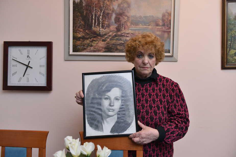 """""""מה שסבלתי, אי אפשר להסביר. ניצול השואה ג'ניה קורטוביץ (צילום: זיו לסמן)"""