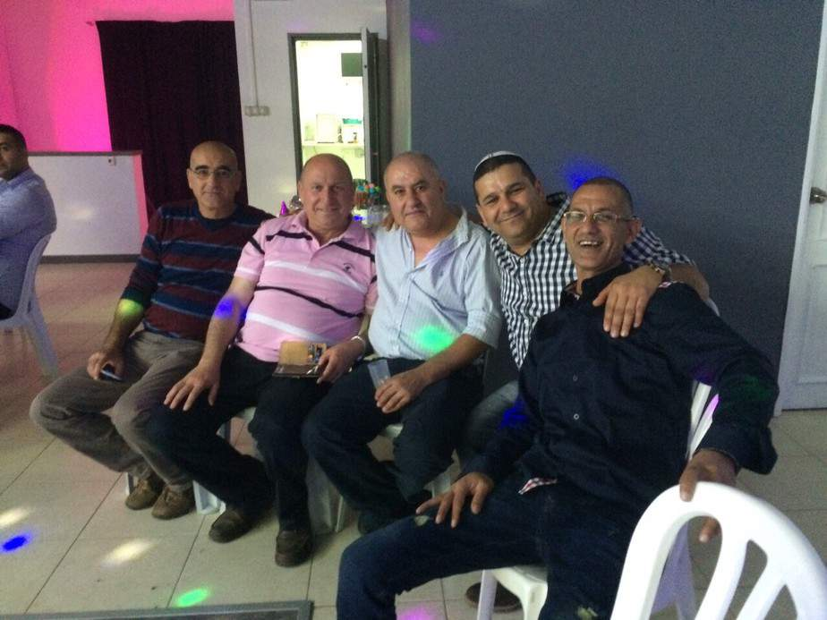 איציק אטיאס וחברים (צילום: עצמי)