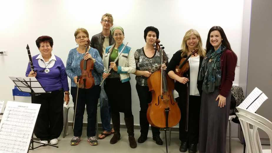 תזמורת קרית השרון (צילום עצמי)
