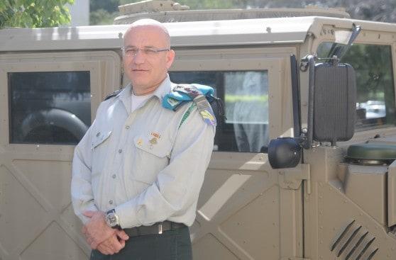 """מפקד בה""""ד 6 אל""""מ רן קינן (צילום: דובר צה""""ל)"""