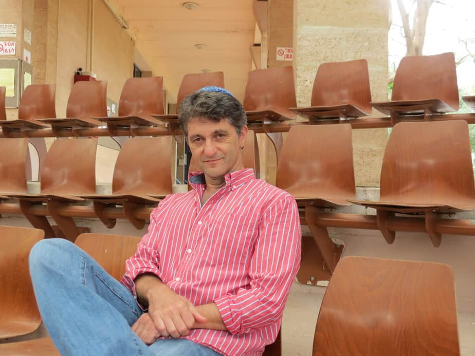 צ'רלי סיטבון, ממציא אפליקציית אנג'לס נירביי (צילום: עצמי)