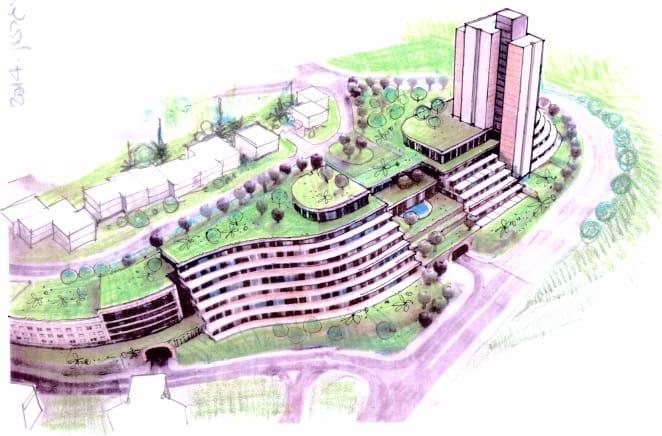 """בקרוב בכרמיאל. פרויקט דיור מוגן הגדול בצפון (הדמיה: יח""""צ)"""