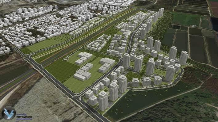50 מיליון שקלים ויהיה איצטדיון. נאות אפק הדמיית מחשב באדיבות עיריית קרית ביאליק