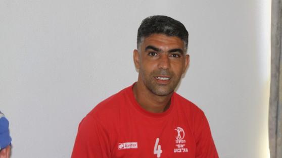 המאמן החדש של אסי גלבוע. אבי דנן (צילום: עצמי)