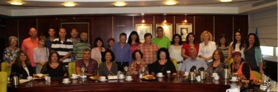 מפגש מנהלים בעיריית נהריה (צילום באדיבות העירייה)