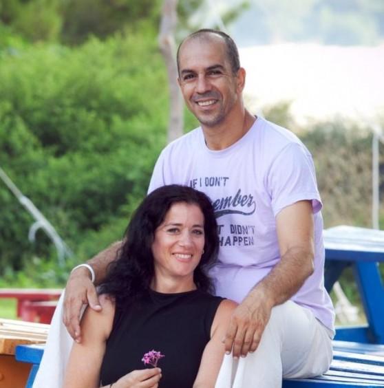 גלי וקובי חאן מרוח גלילית (צילום: ענבל לויתן)
