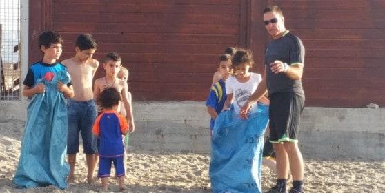 עושה גם פעילויות בהתנדבות. ניר מזרחי מניר פעילויות (צילום: עצמי)