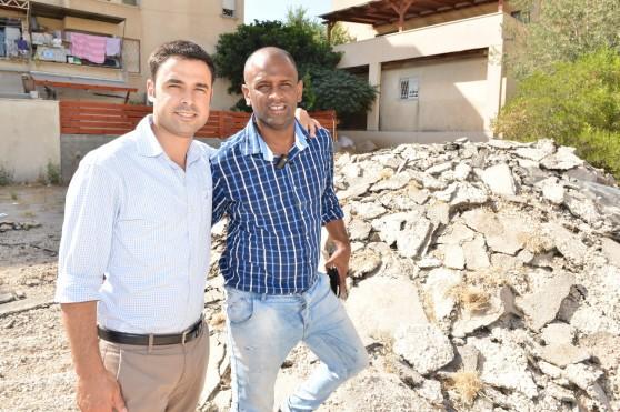 אורי ביו ונתנאל טויטו (צילום: ישראל פרץ)