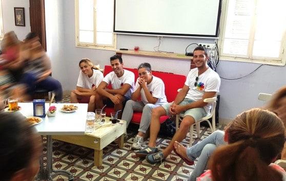 מפגש סיירת הגאווה בחדרה (צילום באדיבות העירייה)