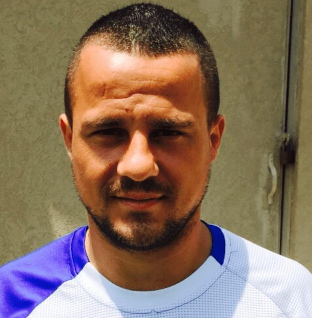 יהלום הכדורגל הפלשתינאי. סייד אברהים (צילום: עצמי)