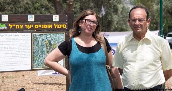 עדי אלדר ולביאה פישר שלו (צילום: אלכס הובר)