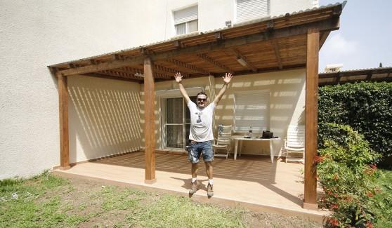 בנייה ועיצוב בעץ. משה דהן (צילום: עצמי)