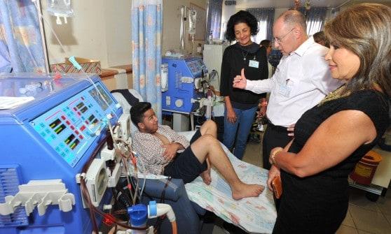 פתיחת שנה אפיק במרכז הרפואי נהריה (צילום: דוברות המרכז הרפואי נהריה)