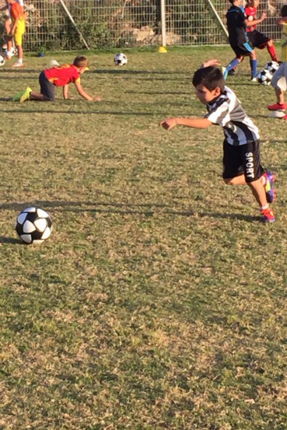 בית ספר לכדורגל הפועל נצרת עילית (צילום:יצחק סולומון)