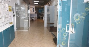 אולם התצוגה של פרפקטו. זכוכית בכל פינה צילום: שלומי גבאי