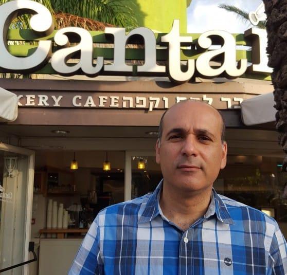 איש קפה. שרון אלימלך (צילום: נירית שפאץ)