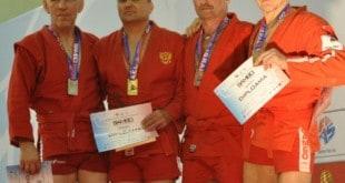 פבל ארשנסקי על הפודיום באליפות העולם (שני מימין) צילום: סימיון ארשנסקי