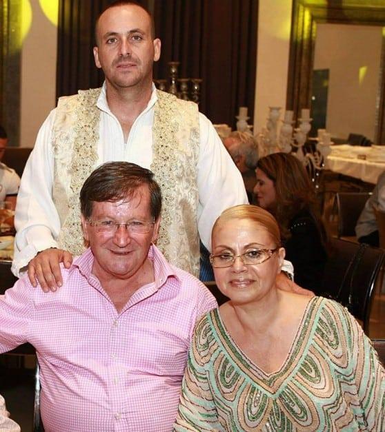 אבי סבג וההורים, מרסל וז'קי סבג