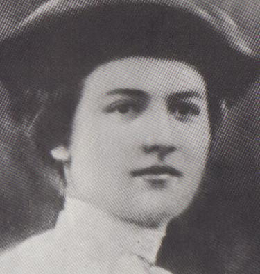 אזכרה לזכרה. שרה אהרונסון (צילום:Public domain, via Wikimedia Commons )