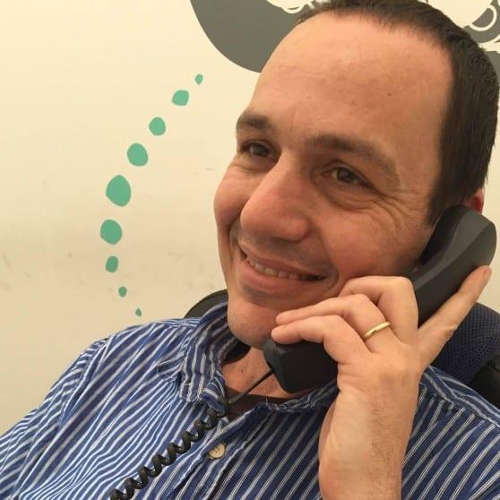 יועץ התקשורת אופיר שפיגל (צילום :עצמי)