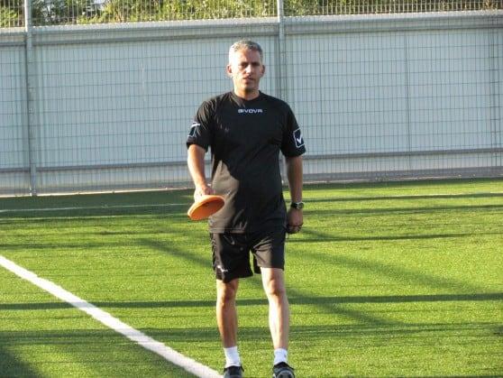 המאמן ניסן יחזקאל. צילום חגאג רחאל
