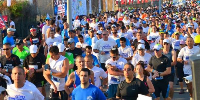וכך זה נראה במרוץ חיפה הראשון, בשנה שעברה (צילום: צבי רוגר)
