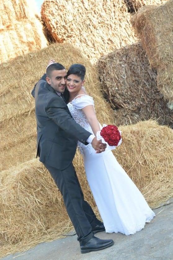 ברכות לענבל ואלעד אלימלך שהתחתנו באולמי כינורות צילום: ליאור צלמים