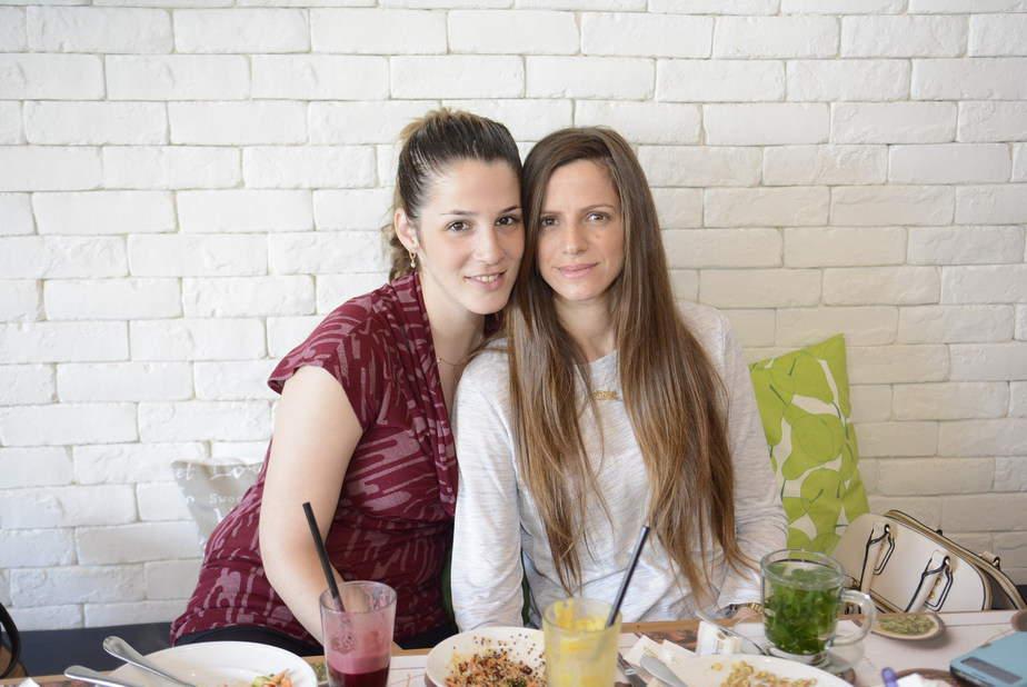 נועה חן ואלומה אברמוביץ׳ [צילום: עידן חן]