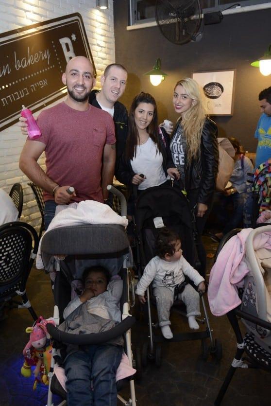 ארז ולידור רביב מארנקי אולגה עם דניאל וזוהר בן שושן