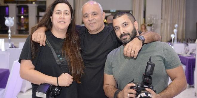 צוות צילום שמבטיח שמשהו חדש הולך לקרות בצפון: גונן שמר, קובי בר חיים וליאת גל [צילום: עידן חן]
