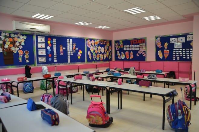 כיתות חדשות ומודרניות. בית ספר גולדה (צילום: אופיר חדש)