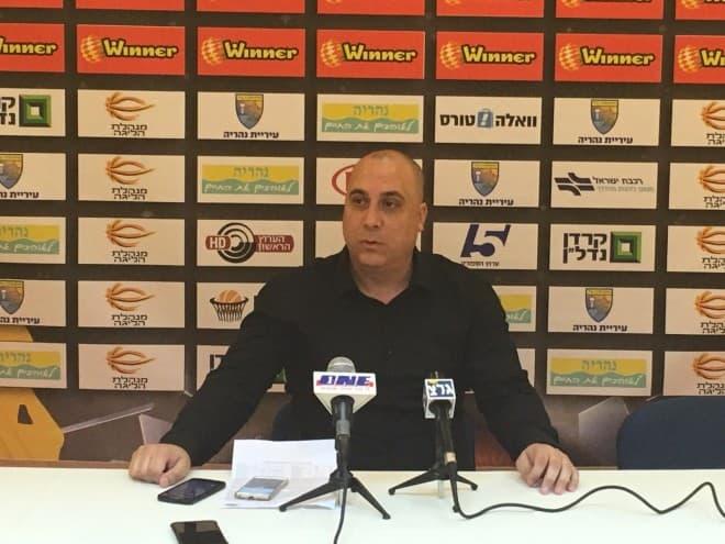 מאמן עירוני נהריה אריק אלפסי (צילום: יניב לני)