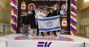 הישגים בינלאומיים. חברי המשלחת הישראלית (צילום: באדיבות אלכס דר)