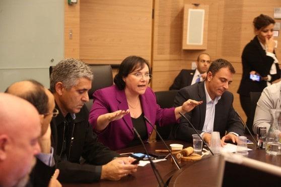 ישיבת החירום של ראשי הרשויות בשבוע שעבר (צילום: ששון תירם)