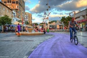 מדרחוב הרצל (צילום: שלמה אבני)