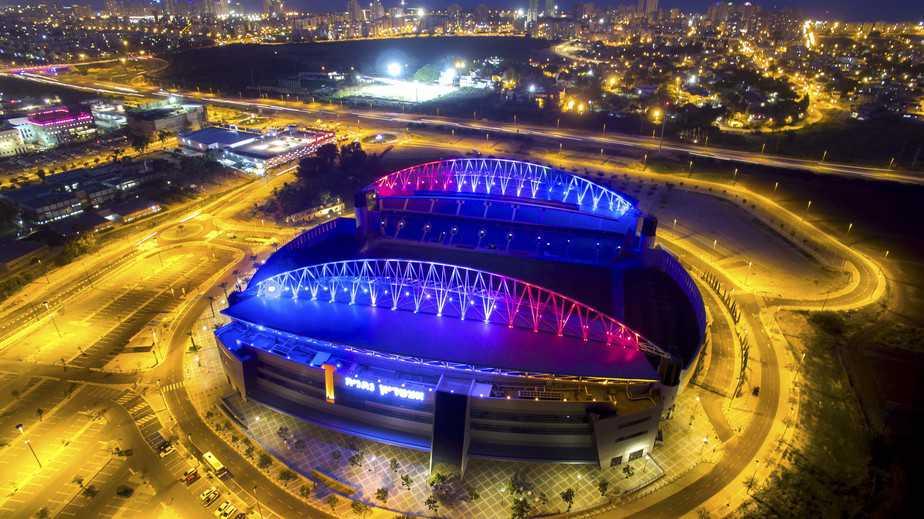 איצטדיון נתניה (צילום: רן אליהו)