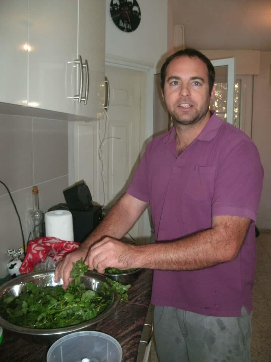 מייעץ לשפים ושפיות ממסעדות מובילות בישראל. יתיר שדה (צילום: נירית שפאץ)