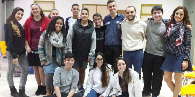 מועצת הנוער בקרית אתא (צילום: רפי עשור)