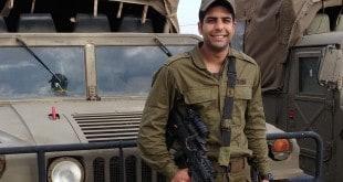 """גיורא ממן, חזר מארצות הברית לשרת בגולני (צילום: דו""""צ)"""
