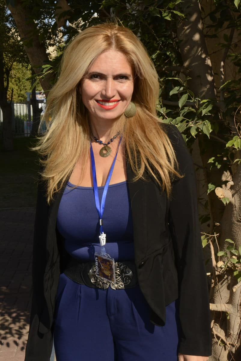 אנג׳ליקה אגבייב, מנהלת שיווק ופירסום [צילום: עידן חן]