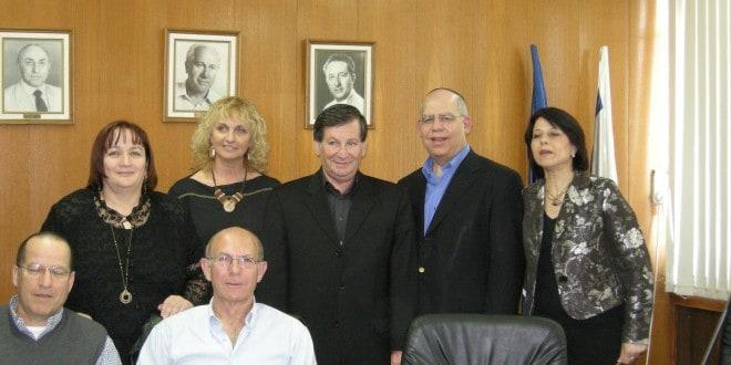 הסכם החזון החינוכי שנחתם בשנת 2008 (צילום: עיריית נהריה)