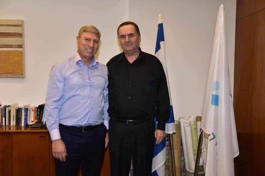 ישראל כץ ויעקב פרץ
