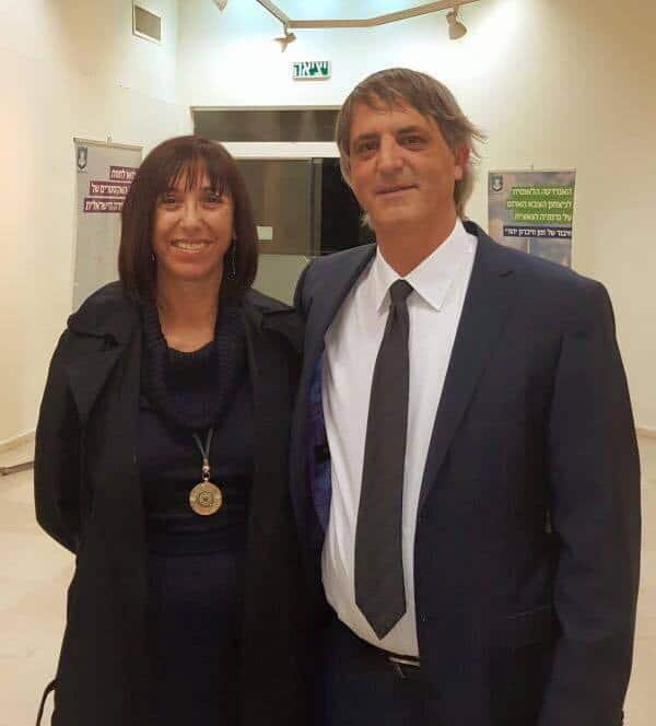 עורכי הדין אבי חימי ואילנה גורן (צילום: פרטי)