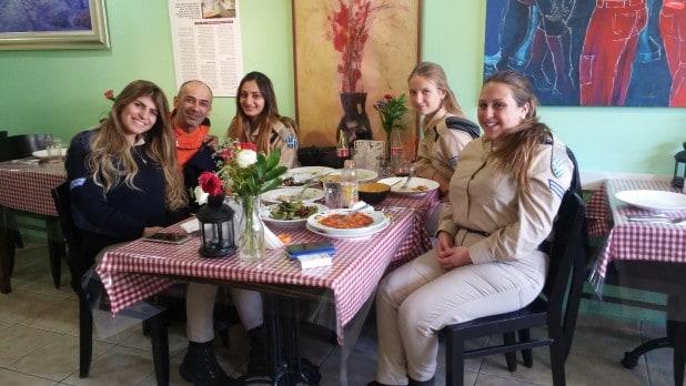 אוראל, סבטה, בר, יצחק קורן השף וורד נתפסו בהפסקת צהריים בפעם השנייה ברציפות במסעדת השף ארט פסטה צילום: איריס ביבי