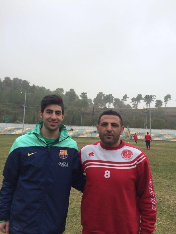 מהפח למהפך. אליאס שחאדה וחוסאם סעיד (צילום: עצמי)