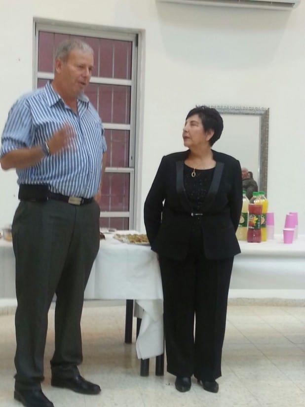 ראש העיר נפרד ממרסל פרץ (צילום עצמי)