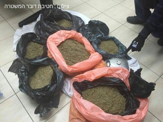 סמים מסוג נייס גיא (צילום: חטיבת דוברות הממשלה