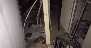 פיצוץ בבניין בשכונת בן גוריון בעכו